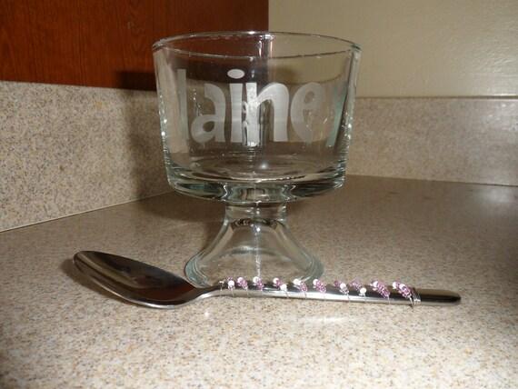 mini trifle bowl
