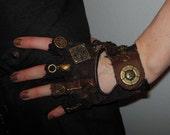 "Moonhoar Monster Glove- Steampunk ""Aleister Crowley"""