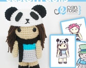 Custom Amigurumi Crocheted Dolls. Choose your own items and colors. --This listing is for reference only, do not purchase it --
