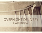 Overnight delivery, US shipping address only.