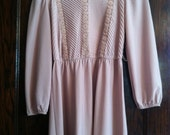 Rose Victorian Secretary Dress