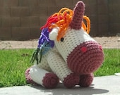 Crochet Unicorn / Uneek Rainbow Unicorn
