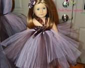 American Girl Doll Tutu Halter Dress