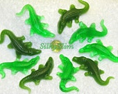 Handmade for kids Crocodile Alligator Soap Set Gift Birthday party favors 10 pcs in individually gift bags