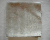 Old rustic German Vintage beige brown coloured heavy thick Kitchen Dish towel Linen
