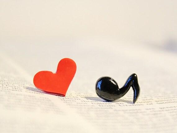 I Heart Music Earrings