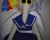 SALE Beach Angel Doll One of a Kind Handmade Bathing Beauty