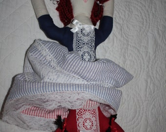 Topsy Turvy Turnabout American Dolls