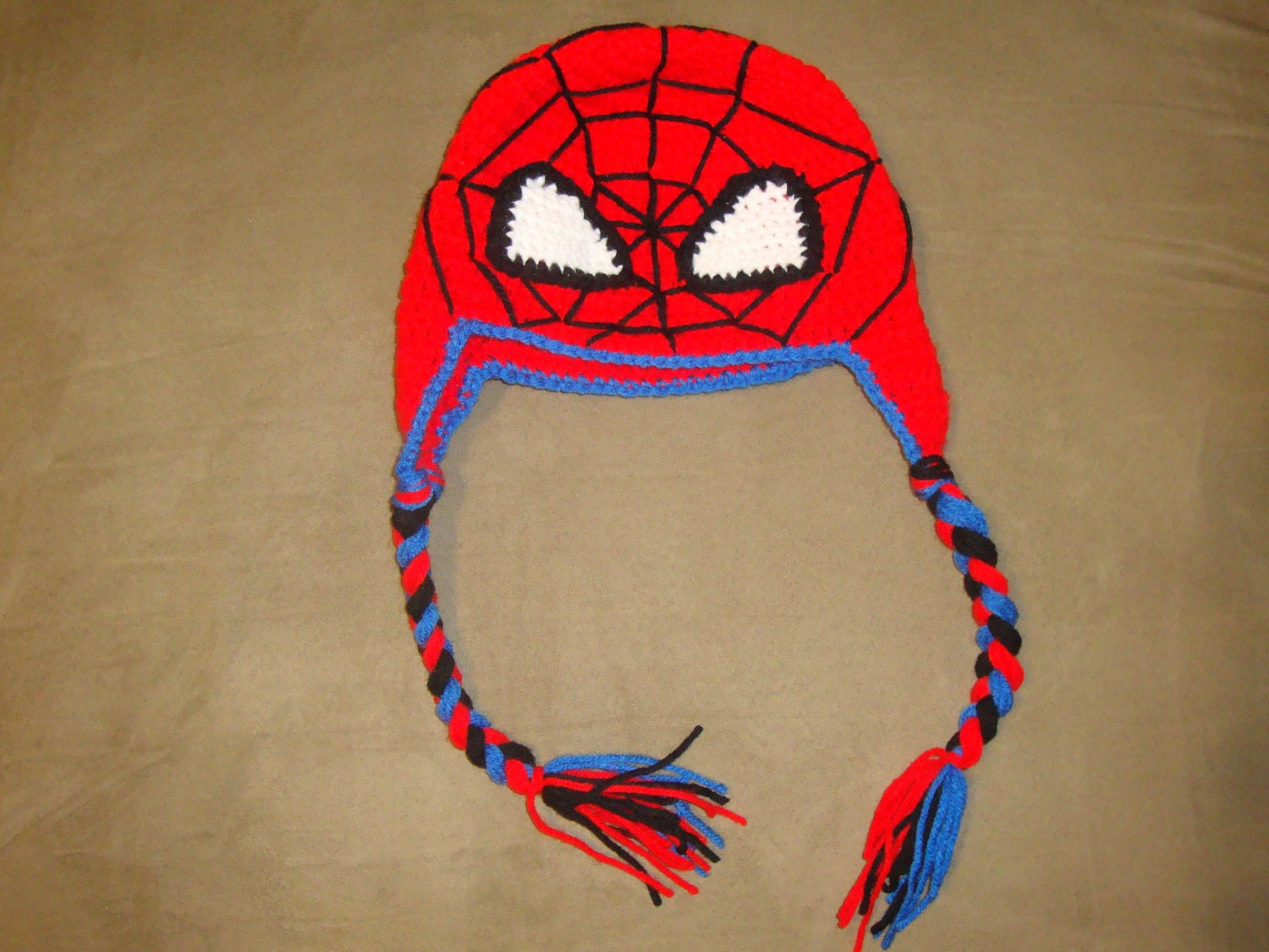 Free Crochet Pattern For Spiderman Beanie ~ Dancox for .