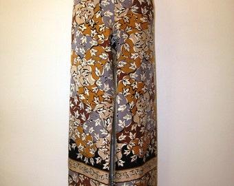 Amazing Rare Vintage Pucci Silk Pants--Mint--Size 6-8
