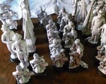 chess set  hand made