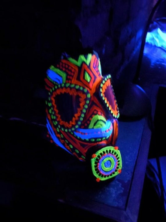 Rave Gas Tribal Rave Gas Mask