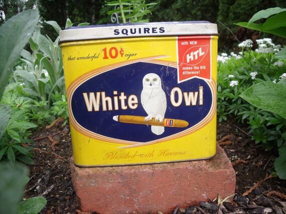 White Owl Ciger Tin