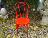 Bentwood Vintage Chair Valentine Red