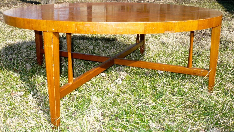 round table mid century lane alta vista va retro coffee table. Black Bedroom Furniture Sets. Home Design Ideas