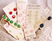 Moonglow Button Lot - Jewel Tone Costumakers, La Mode, Majesty -  Assorted colors