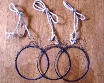 Berimbau replacement wires - set of 3 by Pererê