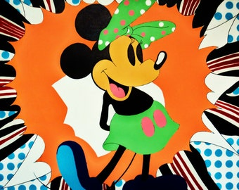 MinnieMouse Pop Art.