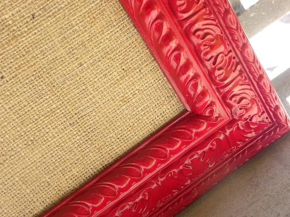 Cork board, framed bulletin board