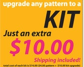 Pittsburgh Cross Stitch - KIT Upgrade - Shipping Included
