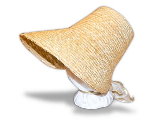 Austentation Jane Austen Regency 1812 Poke Bonnet: Plain
