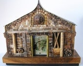 SALE Original Mixed Media Assemblage Sculpture HALF OFF