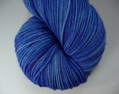 Hand Dyed Yummy Fingering Weight Yarn- Royal Rock Candy