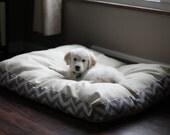 Plush dog beds