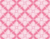 CLEARANCE!  30% OFF! Magic Garden Collection  by Sabine Reinhart Garden Gate in Pink Cotton Fabric 1 Yard