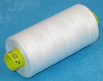 Sewing Thread, White 800 Gutermann Superior Sewing Thread on 1094 Yard Spool