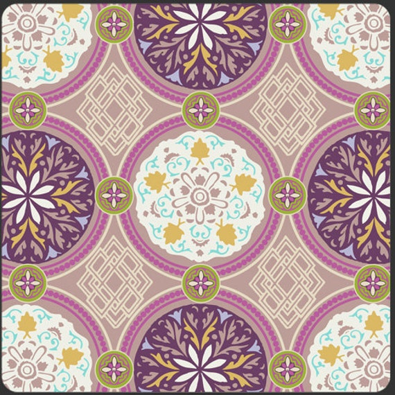 FOR KELLY Art Gallery Fabric by Pat Bravo - BAZAAR Style Collection - Medallion Iron 2 1/4 yards