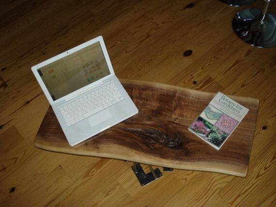 Custom Order Live Edge Solid Hardwood Walnut Slab Coffee Table Top, Desk Top, Bench Top, Work Station, Table Top, Black Walnut Shelf