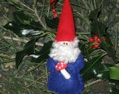 Gnome for Christmas Ornament with FREE shipping