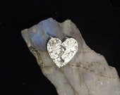 Heart Shaped Special Friends Fine Silver Pendant  *1000027 Valentines Day Gift