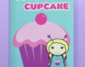 Cupcake Belle Blank Greetings Card from the Magic Belles