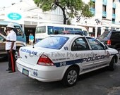 Bahamas Police Car Photo by Kellee Fabre Photography size 8x10