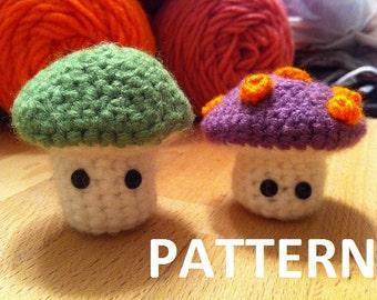 Mushroom Man Crochet Plush Pattern