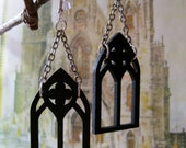 Medieval Gothic Arch/Window Earrings