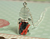 jar of twizzlers necklace