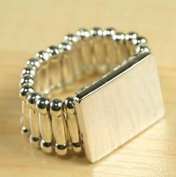10 ct, Stretchy Band Ring Base, Adjustable Ring Blanks