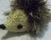 Amigurumi Knitted Hedgehog