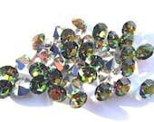 18  Vitrail Medium 29ss Preciosa Optima Round rhinestones-Loose Rhinestones-Bulk Rhinestones-Wholesale Rhinestones-Jewelry Supplies