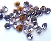 36 Preciosa Alexandrite 24ss Round rhinestones-Loose Chaton Rhinestones-Bulk Rhinestones-Wholesale Rhinestones-Loose Crystals