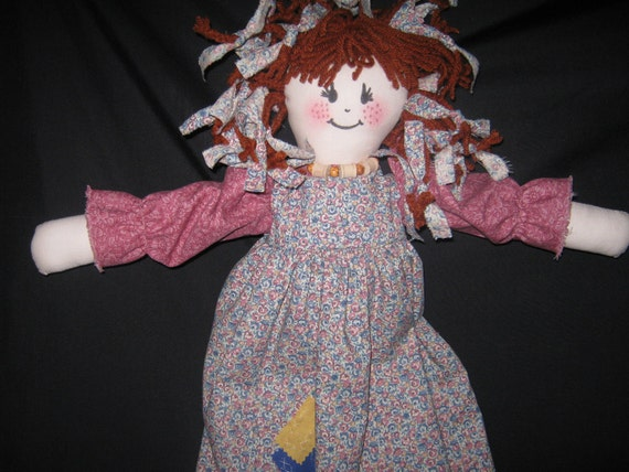 Lovely Rag Doll  She's looking a friend  Personalize  Shipping included