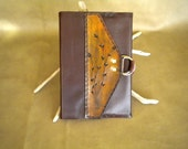Closeout-Leather Journal- Hard-back Insert-Tooled D-Ring Flap-reg. 15.95-Now 10.95