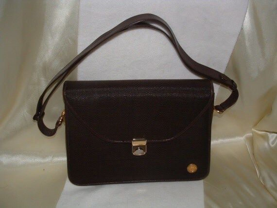 Authentic Pierre Balmain Paris - Rare - Horse Hair / Leather Bag