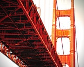 San Francisco photograph, Golden Gate Bridge, California - Under the Golden Gate 8 x 10 fine art photograph