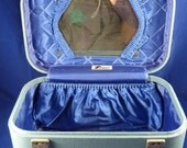 SALE - Vintage CEM Travelgard Train Bag / Suitcase