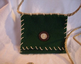 Picky Pocketbook - Forest Green