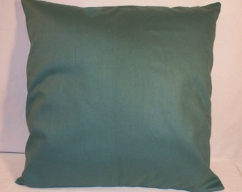 "SALE 16"" x 16"" Green Decorative Pillow Cover"